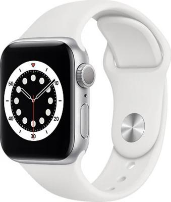 Apple Watch Series 6 (GPS) Alumiinium, valge kellarihm