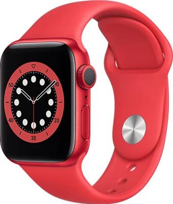 Apple Watch Series 6 (GPS) Alumiinium, punane kellarihm
