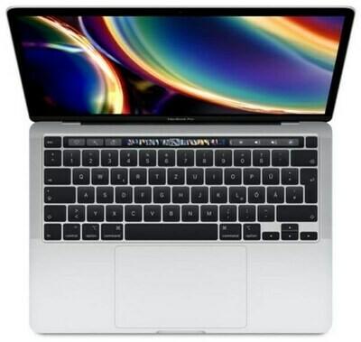 Apple MacBook Pro 13.3'' 2020 MWP72 CTO Core i7 2.3/16/512 GB Touchbar, hõbe