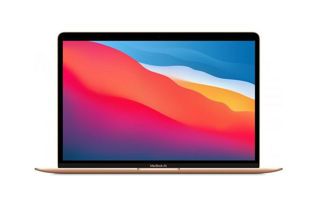 "Apple MacBook Air 13.3"" 2020 Retina M1, 8GB RAM, kuldne"
