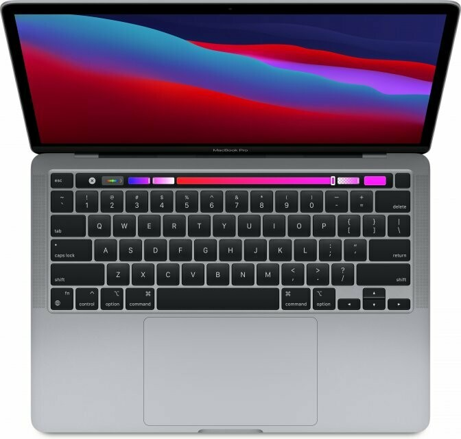 "Apple MacBook Pro 13.3"" 2020 Retina with Touch Bar, M1, 8GB RAM, kosmose hall"