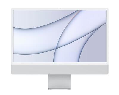 "UUS! Apple iMac 2021 24"" M1 Retina 4,5K, hõbe"