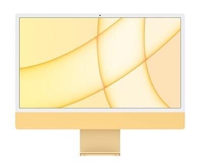 "UUS! Apple iMac 2021 24"" M1 Retina 4,5K, kollane"