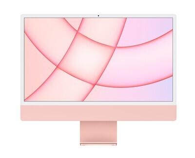 """UUS! Apple iMac 2021 24"""" M1 Retina 4,5K, roosa"""