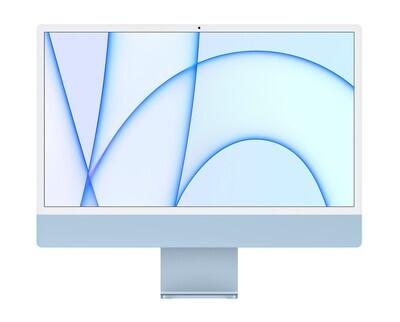 """UUS! Apple iMac 2021 24"""" M1 Retina 4,5K, sinine"""