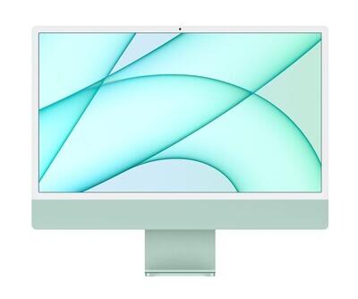 "UUS! Apple iMac 2021 24"" M1 Retina 4,5K, roheline"