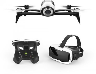 Droon Parrot Bebop 2 + Skycontroller 2 + Cockpit FPV- prillid, PF726213AA