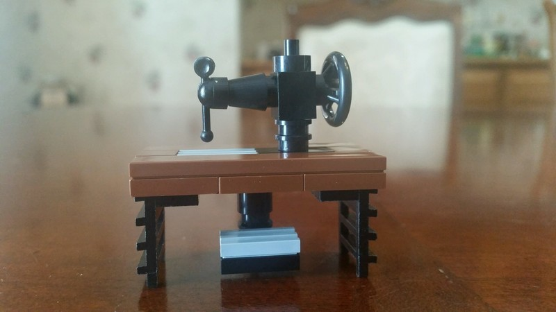 Lego Sewing Machine