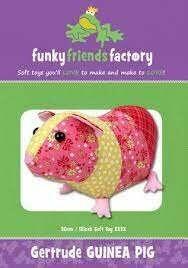 Gertrude GUINEA PIG by funkyfriendsfactory