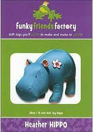 Heather Hippo by funkyfriendsfactory