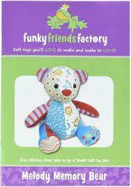 Melody MEMORY BEAR by funkyfriendsfactory