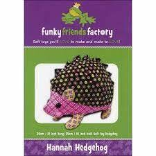 Hannah HEDGEHOG by funkyfriendsfactory