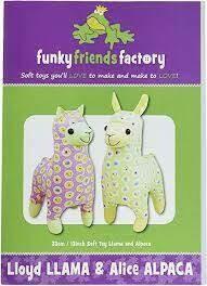 Lloyd Llama & Alice Alpaca by funkyfriendsfactory