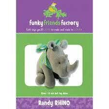 Randy RHINO by funkyfriendsfactory