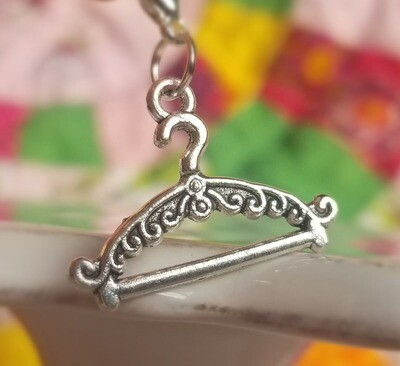 Decorative Silver Hanger Charm