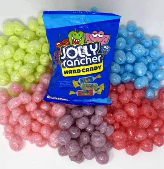 Freeze-Dried Jolly Rancher Candy