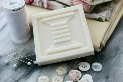 Two White Sands Quilt Block Soaps