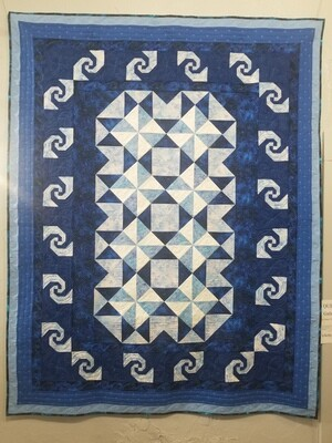 2021 Quilt Raffle - Galaxies and Stars