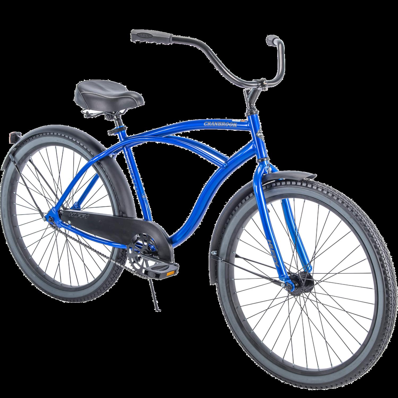 "CE-102 Bicicleta Crucero Azul Huffy 26""  De Hombre- CARIBE"