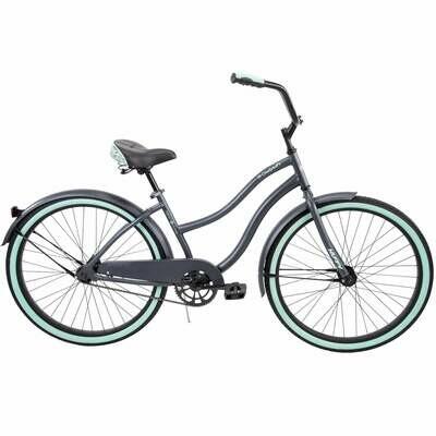 CE-111 BICICLETA HUFFY Cranbrook Women's Comfort Cruiser Bike, Gray (GRIZ) - CARIBE
