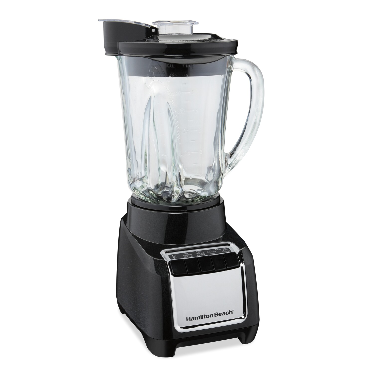 CE-331 LICUADORA Hamilton Beach Wave-Action Blender 700 W NEGRA| Model# 53521
