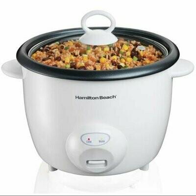CE-333 Hamilton Beach 20 Cup Rice Cooker Blanca - Model# 37532 - CARIBE