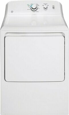 GE - 7.2 Cu. Ft. 3-Cycle Electric Dryer - Blanca - CARIBE