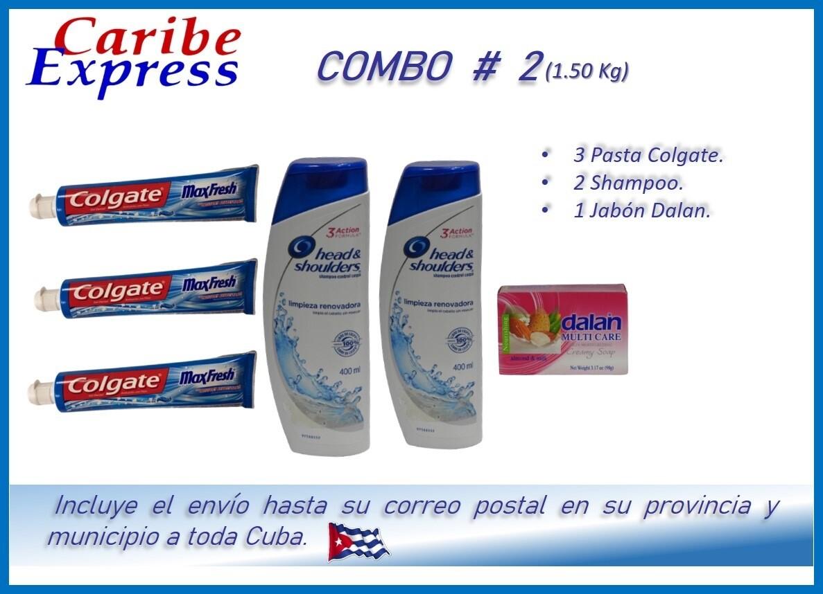 CE- P002 COMBO ASEO # 2 - CARIBE (60 Dias)
