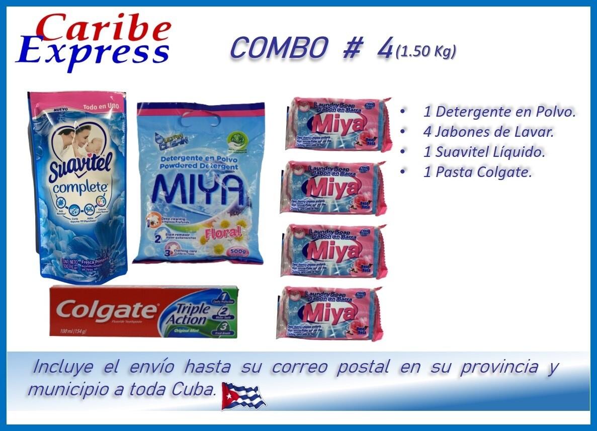 CE- P004 COMBO ASEO # 4 - CARIBE
