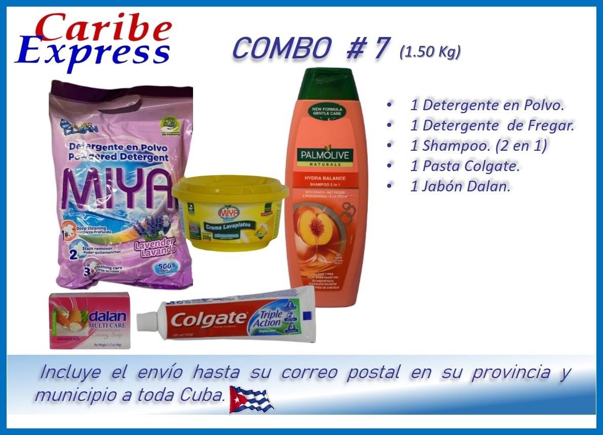 CE- P007 COMBO ASEO # 7 - CARIBE (60 Dias)