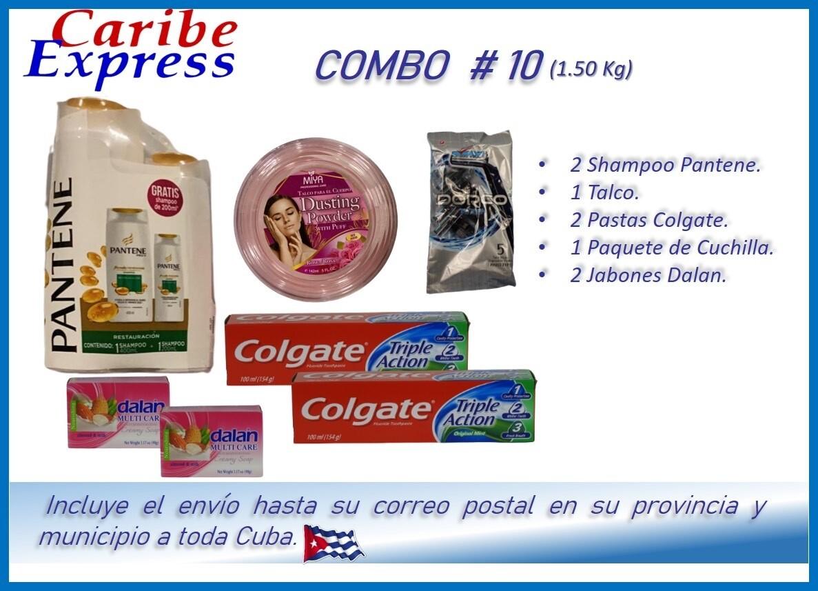 CE- P010 COMBO ASEO # 10 - CARIBE (60 Dias)