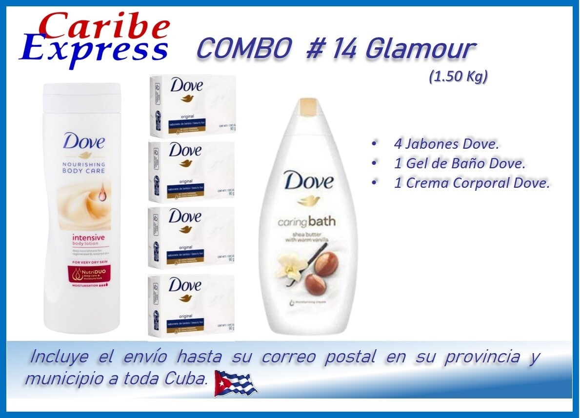 CE- P014 COMBO ASEO # 14 - CARIBE (60 Dias)