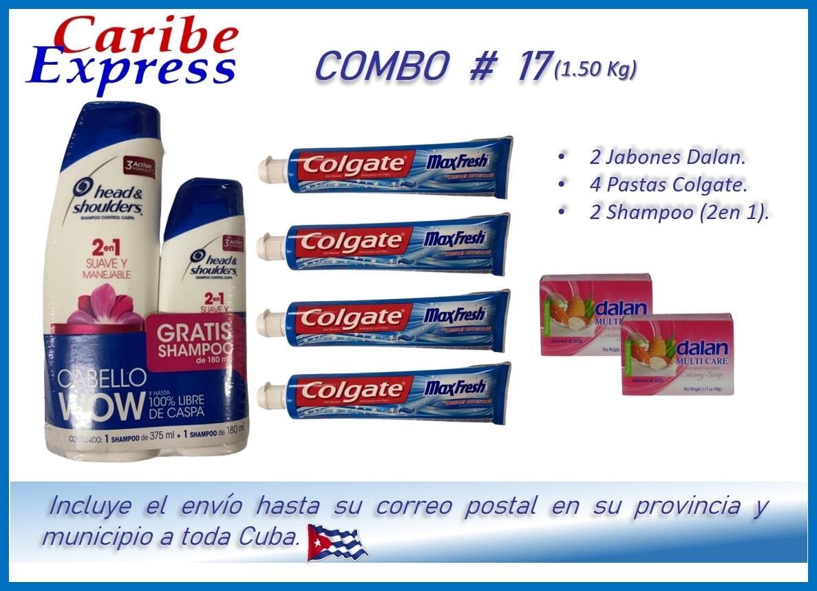 CE- P017 COMBO ASEO #17 - CARIBE (60 Dias)