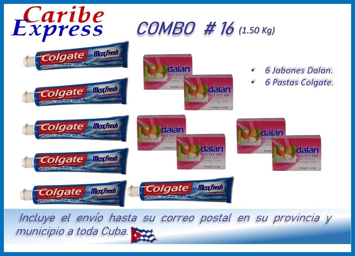 CE- P016 COMBO ASEO # 16 - CARIBE (60 Dias)