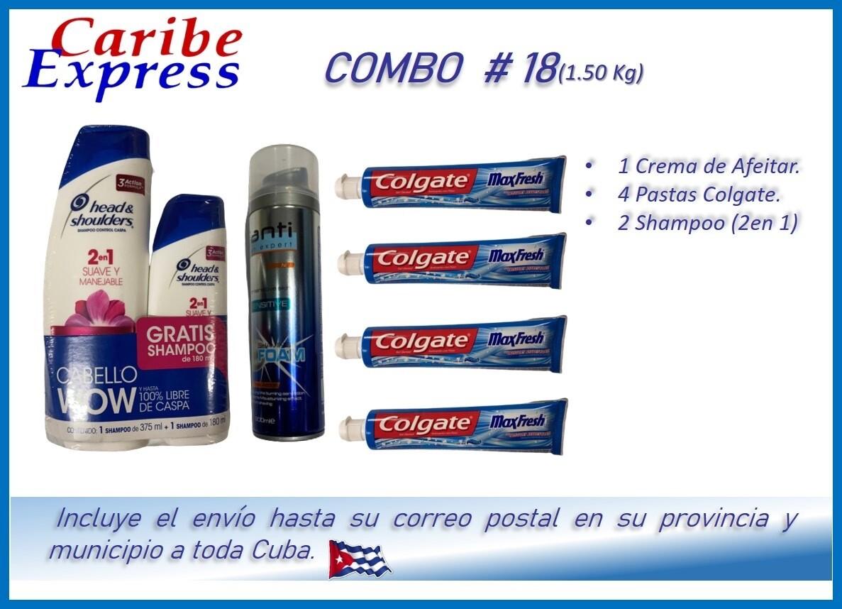 CE- P018 COMBO ASEO #18 - CARIBE (60 Dias)