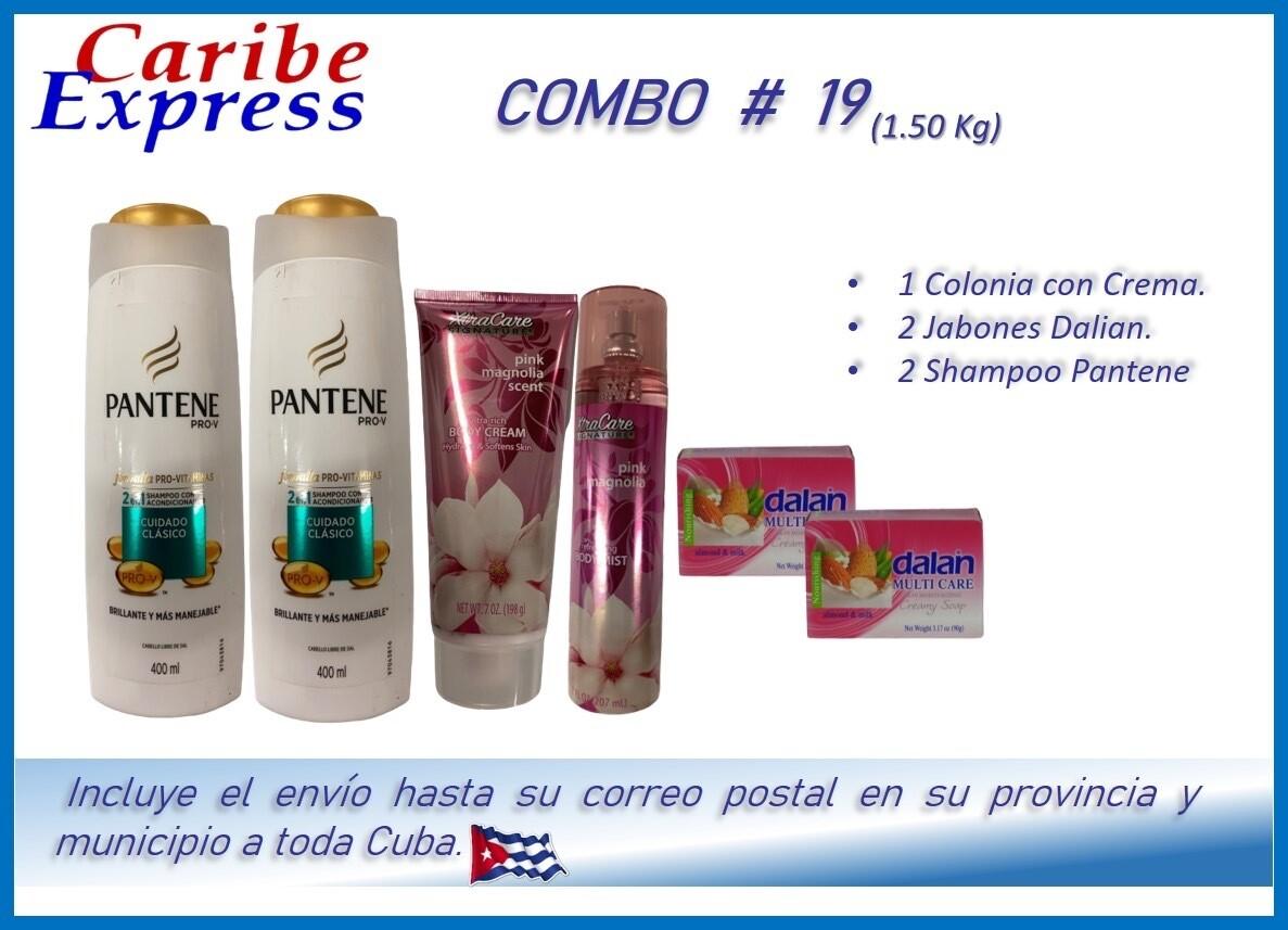 CE- P019 COMBO ASEO # 19 - CARIBE (60 Dias)