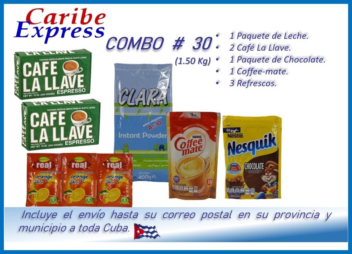 CE- P030 COMBO ALIMENTO # 30 - CARIBE