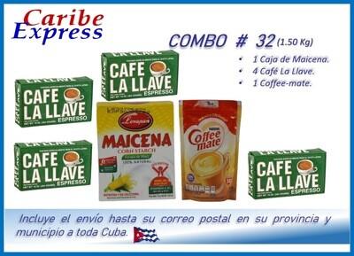 CE- P032 COMBO ALIMENTO # 32 - CARIBE (60 Dias)