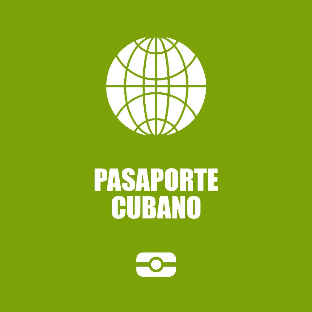 Pasaporte Cubano Nuevo (primera vez)