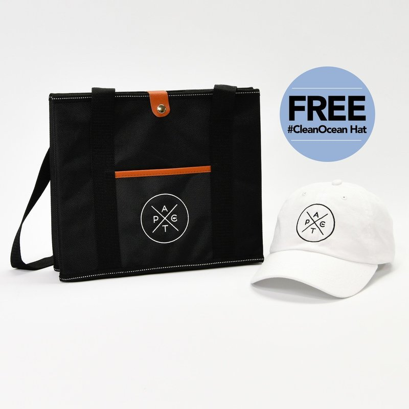 Pact Box Mini + Free #CleanOcean Hat