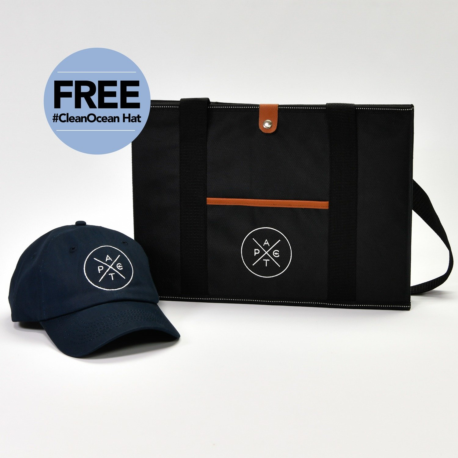 Buy One Pact Box Today and You Also Receive a Pact #CleanOcean Hat (a $15.95 value) Absolutely FREE.