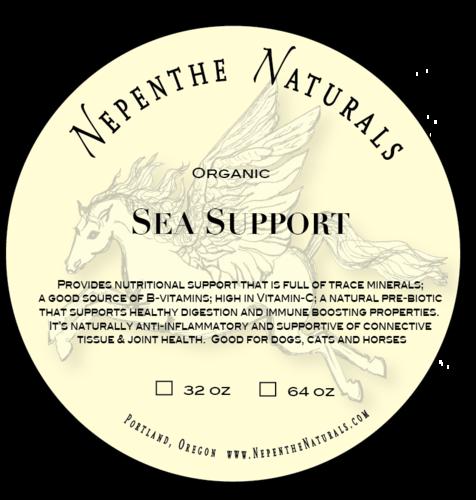 Organic Sea Support Supplement 64 oz