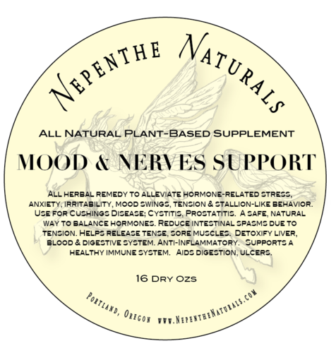 Mood & Nerve Support Supplement 16oz