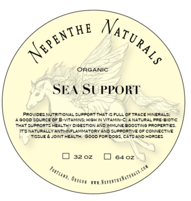 Organic Sea Support Supplement 32 oz