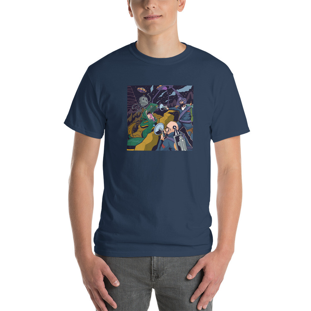 Shift Your Paradigm Battle Scene T-Shirt