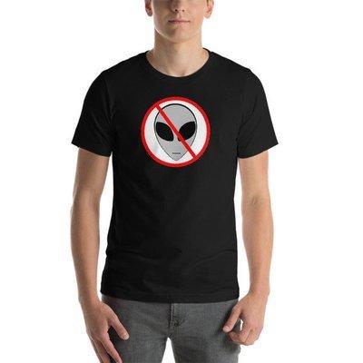 Anti- Alien Short-Sleeve Unisex T-Shirt