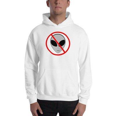 Anti Alien Hooded Sweatshirt