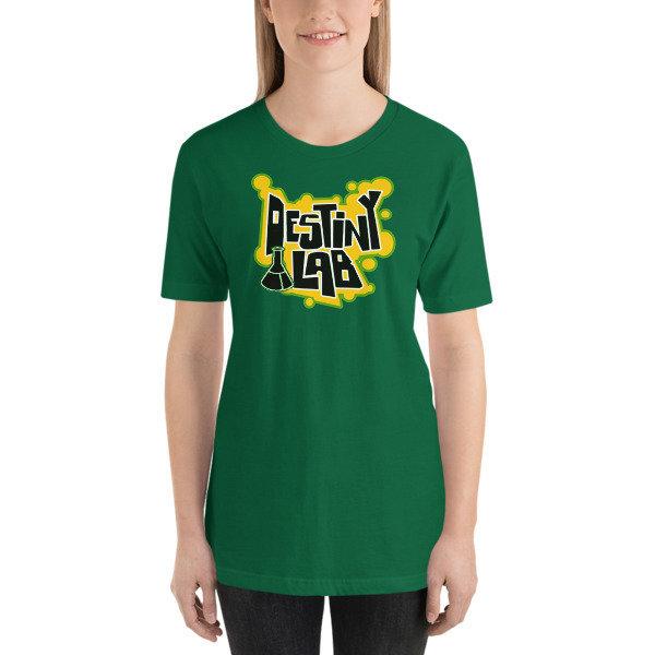 Destiny Lab beaker Short-Sleeve Unisex T-Shirt
