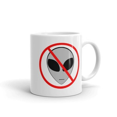 Anti Alien Mug