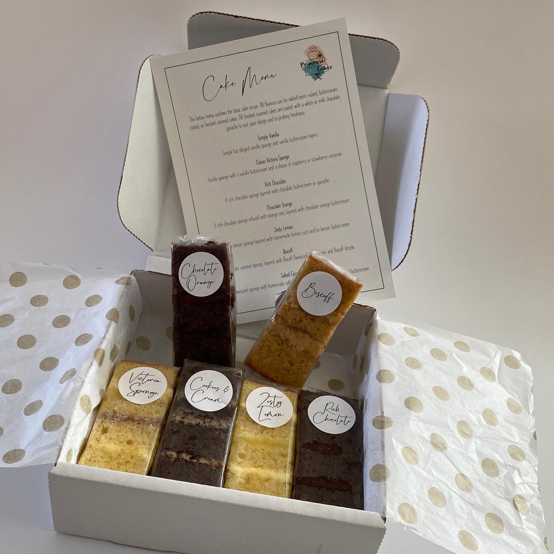 Cake Sample Box (May 2021)